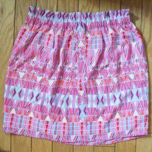 Multi Colored Paperbag Skirt